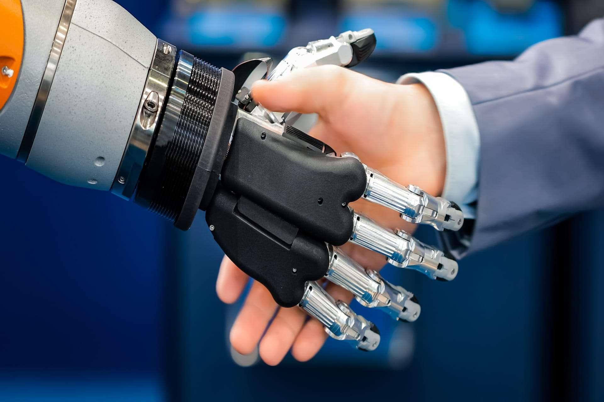 mano umana robot