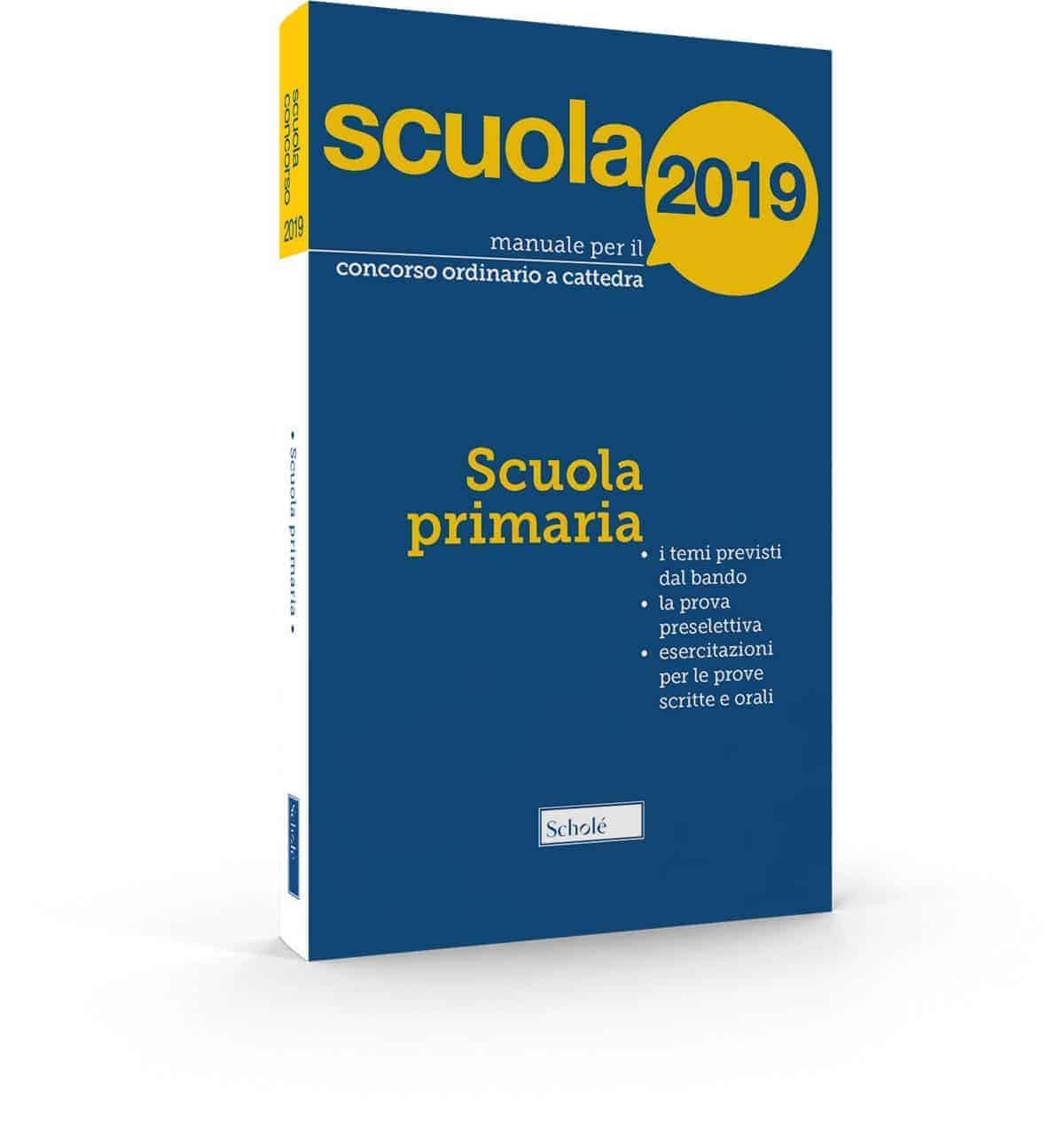 Manuale concorso scuola primaria 2019